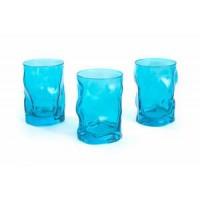 Набор: 3 стакана 300 мл Sorgente Azzurro