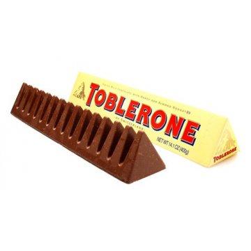 Шоколад Toblerone молочный с медом и миндальной нугой, 100 г