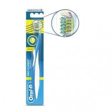 Зубная щетка Oral-B Pro Expert Cross Action Антибактериальная. Цена ... 4996548a40148