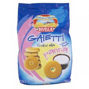 Divella Gaietti Alla Panna, 400 г