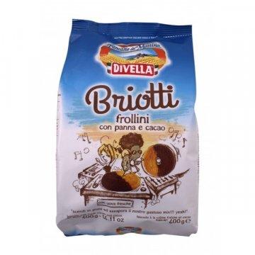 Divella Frollini Briotti pan/cacao, 400 г