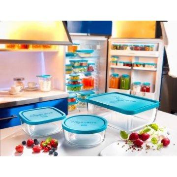 Емкость для продуктов Bormioli Rocco Frigoverre Basic, 22х22 см