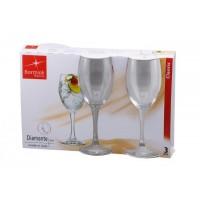 Набор бокалов для вина Bormioli Rocco Diamante 250 мл, 3 шт