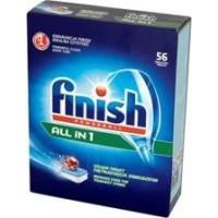 Таблетки для посудомоечных машин Finish Powerball All in 1, 56 шт