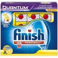 Таблетки для посудомоечных машин Finish Powerball Quantum Lemon, 60 шт