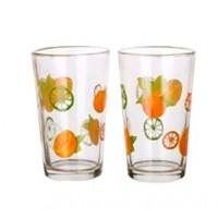 Набор стаканов Banquet Апельсин (230 мл, 6 шт.)