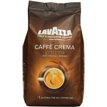 Кофе Lavazza Caffe Crema Gustoso, 1 кг (В зернах)