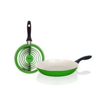 Сковорода 28 см Culinaria зеленая