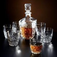 Набор для виски Bormioli Rocco Dedalo, 7 пр.