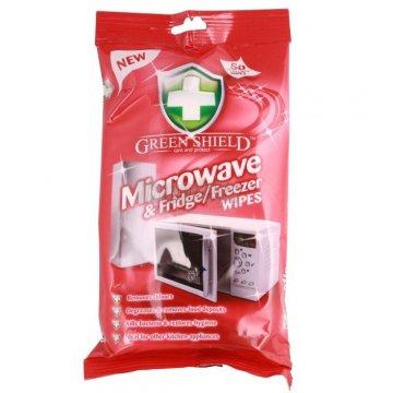 Влажные салфетки Green Shield Microwave, 70 шт