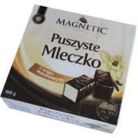 Конфеты Magnetic Puszyste Mleczko Waniliowe, 500г