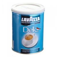Кофе Lavazza Dek (банка), 250 г