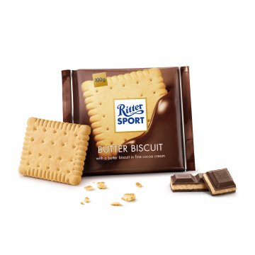 Шоколад Ritter Sport Bitter Biscuits, 100 г