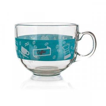 Чашка стеклянная Banquet Malaga Coffee, 435 мл