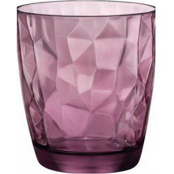 Стакан Bormioli Rocco Diamond Rock Purple, 305 мл