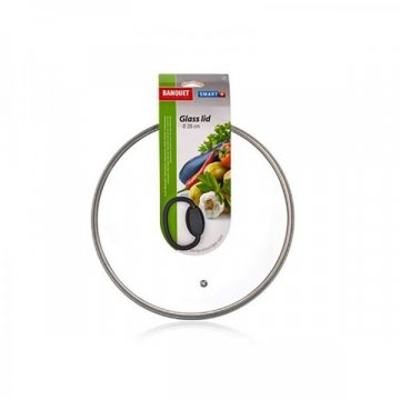 Крышка стеклянная Banquet Smart Plus, 26 см