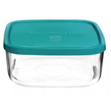 Емкость для продуктов Bormioli Rocco Frigoverre Basic, голубая (19х19)