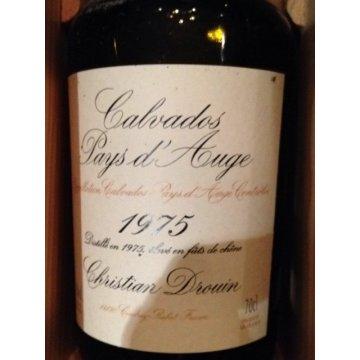 Кальвадос Calvados Coeur de Lion Pays d'Auge, wooden box, 1975 (0,7 л)