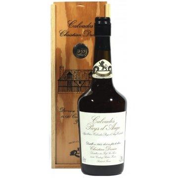 Водка Calvados Coeur de Lion Pays d'Auge, wooden box, 1990 (0,7 л)