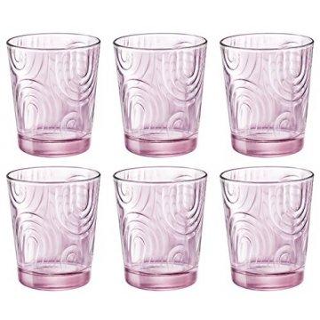Набор стаканов Bormioli Rocco Arches Candy Pink  295 мл