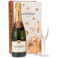 Шампанское Taittinger Brut Reserve (gift box) (0,75 л)
