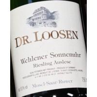 Вино Dr. Loosen Wehlener Sonnenuhr Riesling Auslese, 2007 (0,75 л)