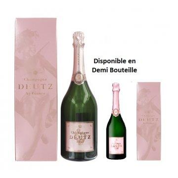 Шампанское Deutz Шампанское розовое сухое Brut Rose Deutz, gift box (1,5 л)