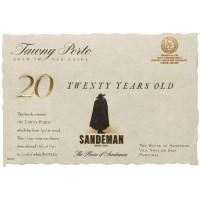 Вино Sandeman 20 Years Old Tawny Porto (0,75 л)