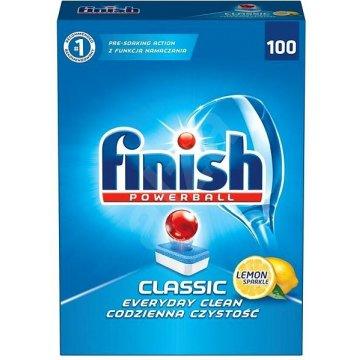 Таблетки для посудомоечных машин Finish Classic Lemon, 100 шт