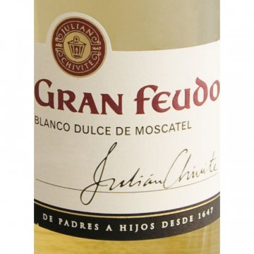 Вино Gran Feudo, Dulce de Moscatel Gran Feudo (0,5 л)