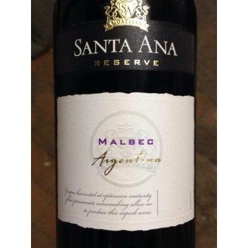 Вино Santa Ana Reserve Malbec (0.75 л)