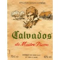 Кальвадос Slaur Sardet Calvados Maitre Pierre (0.7 л)