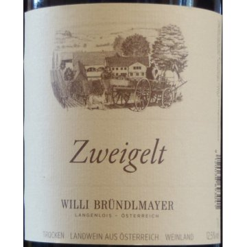 Вино Brundlmayer, Zweigelt Willi Brundlmayer (1 л)