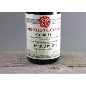 Вино Emidio Pepe Montepulciano d'Abruzzo Riserva, 2000 (0,75 л)