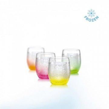 Стакан Bohemia Frozen Neon 300 мл, 4 шт.