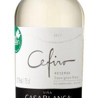 Вино Casablanca Sauvignon Blanc Cefiro (0,75 л)