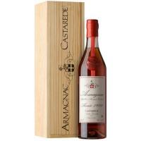 Коньяк Armagnac Castarede, wooden box, 1989 (0,7 л)
