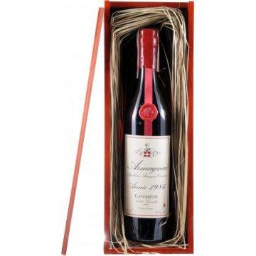 Коньяк Armagnac Castarede, wooden box, 1984 (0,7 л)