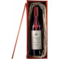 Коньяк Armagnac Castarede, wooden box, 1983 (0,7 л)