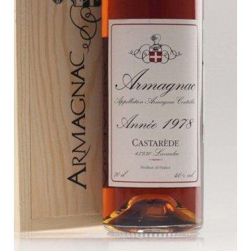 Коньяк Armagnac Castarede, wooden box, 1978 (0,7 л)