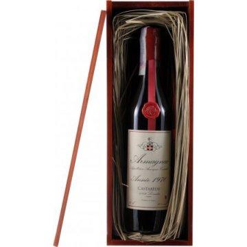 Коньяк Armagnac Castarede, wooden box, 1970 (0,7 л)