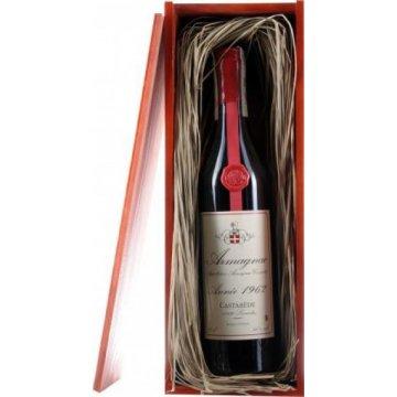 Коньяк Armagnac Castarede, wooden box, 1962 (0,7 л)