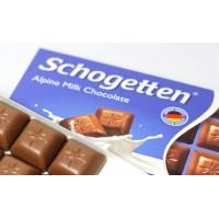 Шоколад Schogetten Alpine Milk, 100 г