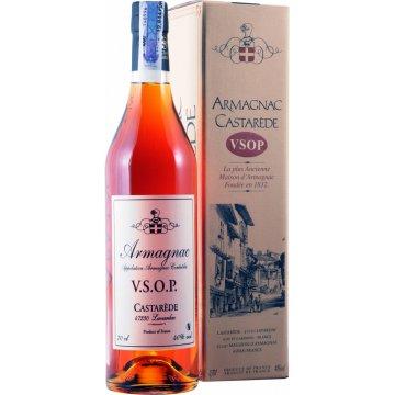 Коньяк Armagnac Castarede VSOP, gift box (0,7 л)