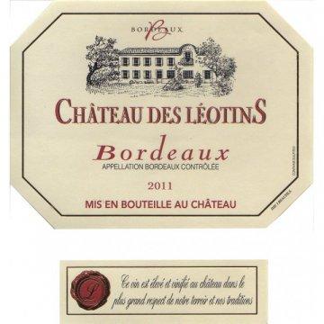 Вино Chateau des Leotins Rouge Chateau des Leotins Rouge (0,75 л)