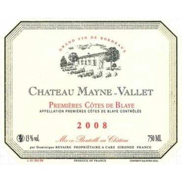 Вино Chateau Mayne-Vallet Chateau Mayne-Vallet (0,75 л)