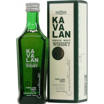 Виски Kavalan Port Cask Finish (0,05 л.)