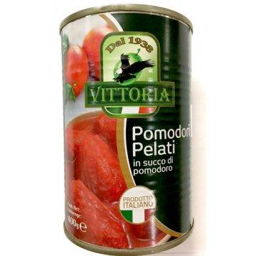 Очищенные помидоры Vittoria Pomodori Pelati, 400 г