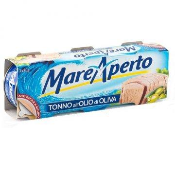 Тунец MareAperto Olio di Oliva, 80 г