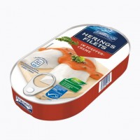 Филе сельди Fjordens Herings Filets In Preffer-Creme (200 г)